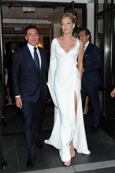 Met Gala 2015 Departures From The Mark Hotel - NYC