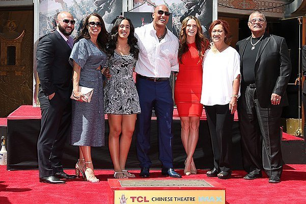"""Dwayne """"The Rock"""" Johnson Hand/Footprint Ceremony At TCL Chinese Theatre"""