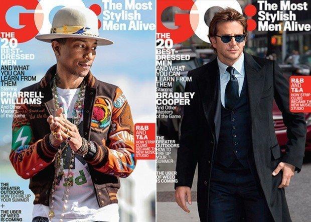 Брэд Питт, Брэдли Купер и Райан Гослинг стали самыми стильными мужчинами года по версии GQ