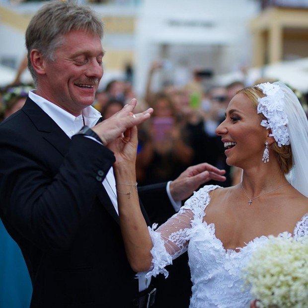 Татьяна Навка вышла замуж за Дмитрия Пескова
