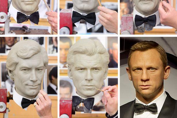 Шесть фигур Джеймса Бонда будут выставлены в лондонском музее восковых фигур