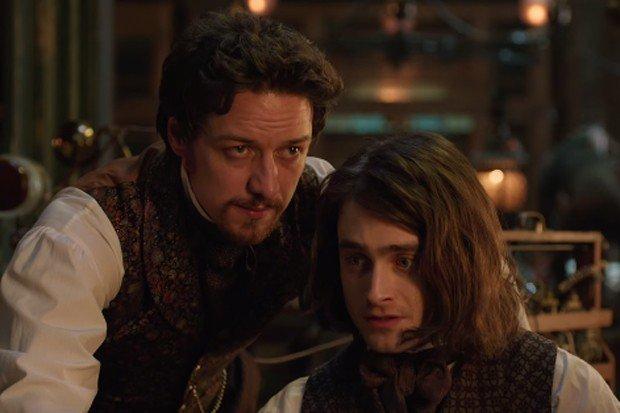 Дэниэл Рэдклифф и Джеймс Макэвой создают чудовище в первом трейлере «Виктора Франкенштейна»