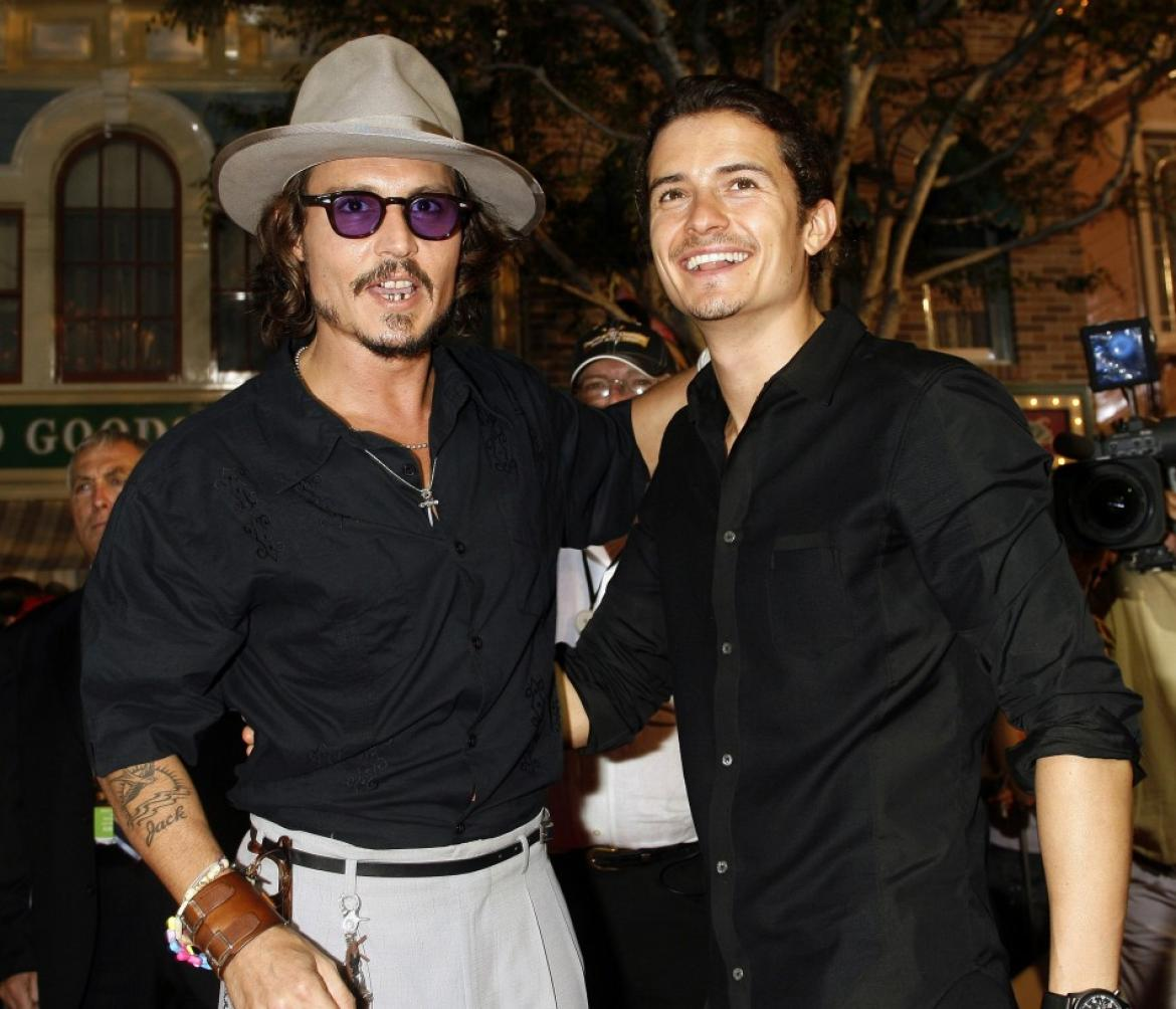 Johnny Depp and Orlando Bloom To Do About Men Pinterest Pictures of johnny depp and orlando bloom