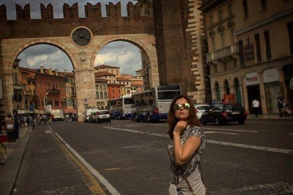 Ирина Безрукова уехала в Италию