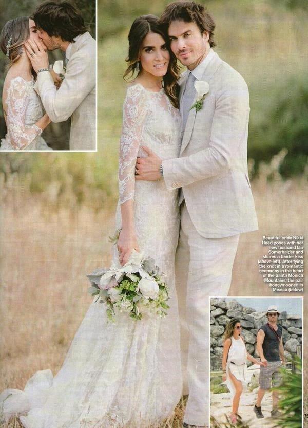 Йен сомерхолдер и никки рид фото свадьбы