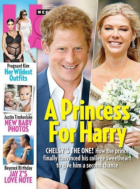 Принц Гарри возобновил отношения с Челси Дэви