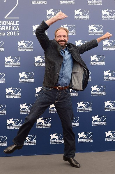 VENICE, ITALY - SEPTEMBER 06:  Ralph Fiennes attends a photocall for 'A Bigger Splash' during the 72nd Venice Film Festival at  on September 6, 2015 in Venice, Italy.  (Photo by Dominique Charriau/WireImage)