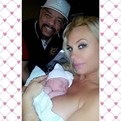 У рэпера Ice-T и Коко Остин родилась дочь