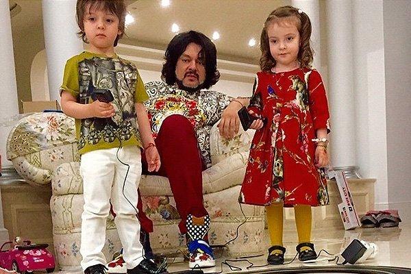 Филипп Киркоров изменился ради детей