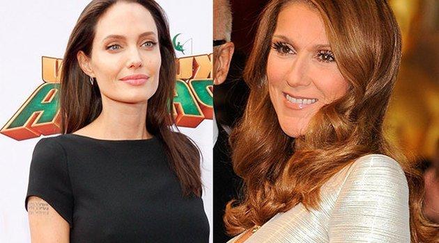 Анджелина Джоли снимет фильм о слабости Селин Дион иРене Анджелила