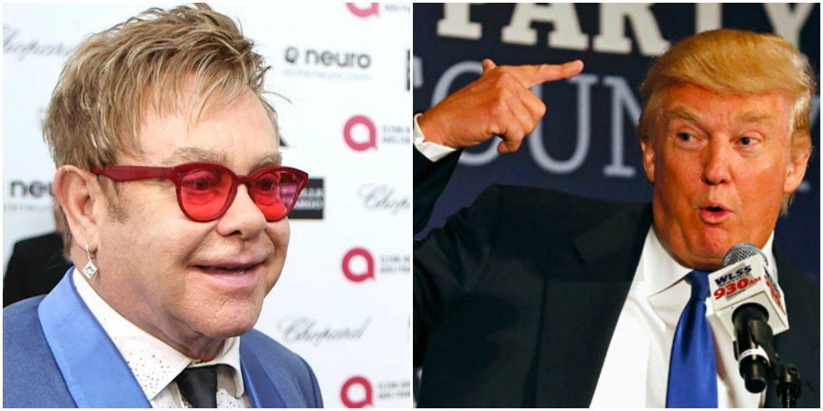 Элтон Джон запретил Дональду Трампу использовать свои песни для агитации