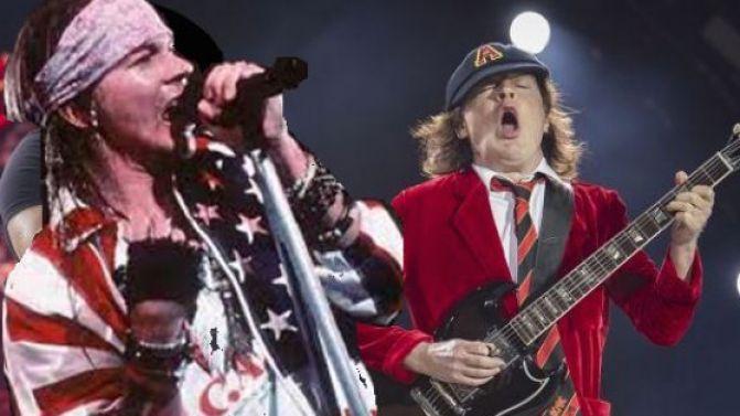 Солист Guns NRoses Эксл Роуз стал новым солистом AC/DC