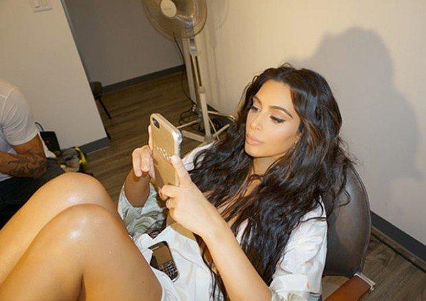 Ким Кардашьян вернулась к социальным сетям