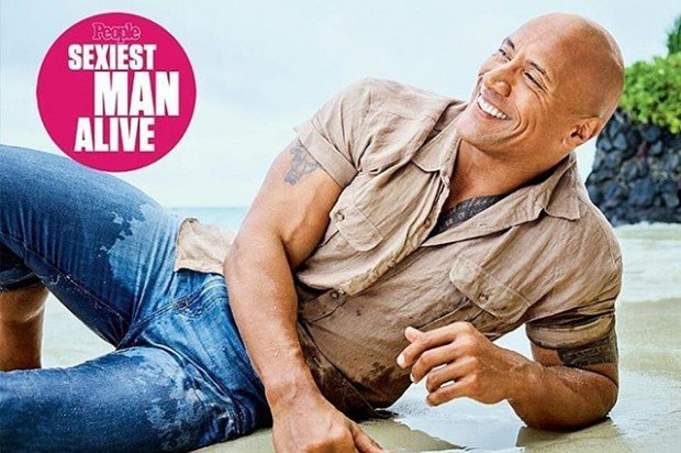 Дуэйн Джонсон назван самым сексуальным мужчиной 2016 года