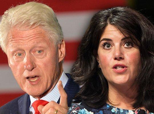 Непризнанный сын Билла Клинтона просит голубое платье Моники Левински