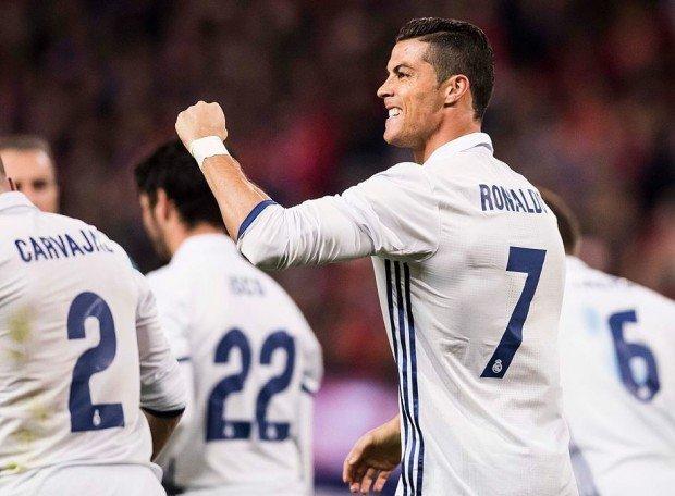 Зидан: «Роналду— лучший игрок вистории Реала»
