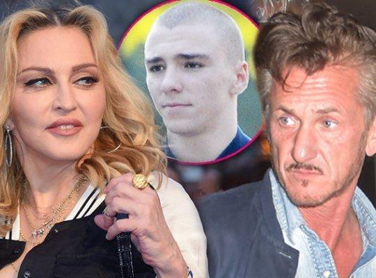 Шон Пенн поможет сыну Мадонны
