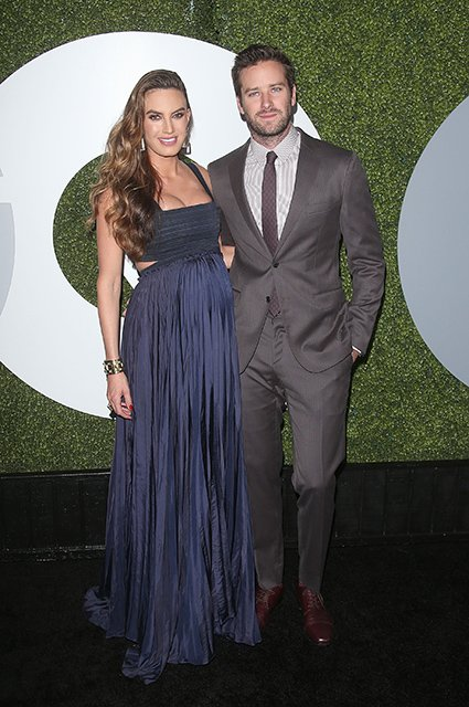 LOS ANGELES, CA - DECEMBER 08:  Actors Elizabeth Chambers and Armie Hammer attend the 2016 GQ Men of the Year Party at Chateau Marmont on December 8, 2016 in Los Angeles, California.  (Photo by Jesse Grant/Getty Images)