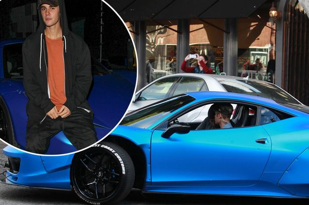 Джастин Бибер решил расстаться с Ferrari, которую однажды потерял