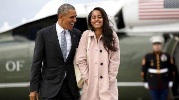 18-летняя дочь Барака Обамы получила работу в Голливуде