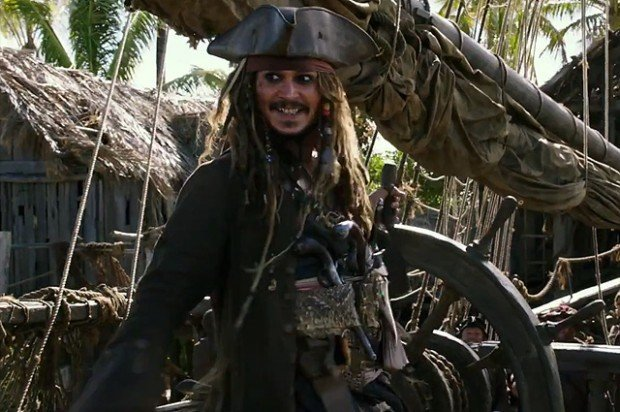 Пираты Карибского моря , все 4 части + анонс 5 части