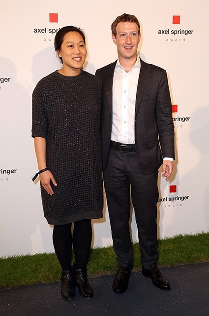 Mark Zuckerberg Awarded With Axel Springer Award In Berlin
