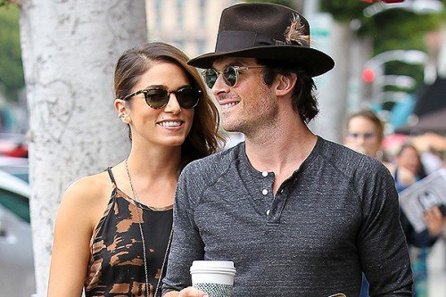 Nikki Reed and Ian Somerhalder go out for coffee in Beverly HillsFeaturing: Nikki Reed,Ian SomerhalderWhere: Beverly Hills, California, United StatesWhen: 09 Sep 2014Credit: WENN.com