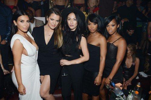 Kim Kardashian Celebrates Her Birthday At TAO Nightclub At The Venetian Hotel And Casino