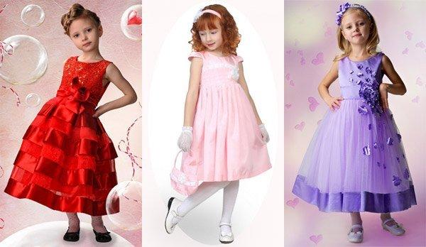 Как выбрать нарядное платье девочке