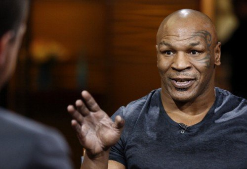 "TODAY -- Pictured: Mike Tyson appears on NBC News' ""Today"" show -- (Photo by: Peter Kramer/NBC/NBC NewsWire via Getty Images)"