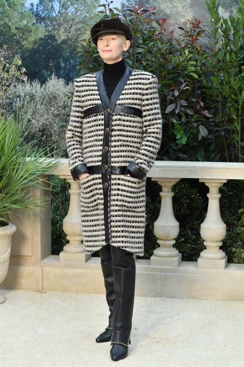Chanel : Front Row - Paris Fashion Week - Haute Couture Spring Summer 2019