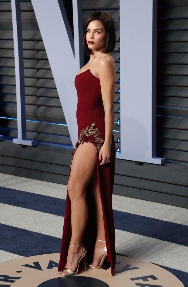 Mandatory Credit: Photo by Matt Baron/REX/Shutterstock (9448982nz) Jenna Dewan Vanity Fair Oscar Party, Arrivals, Los Angeles, USA - 04 Mar 2018