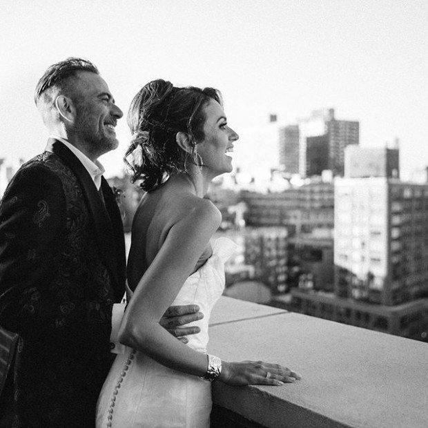 Хилари Бертон и Джеффри Дин Морган поженились!