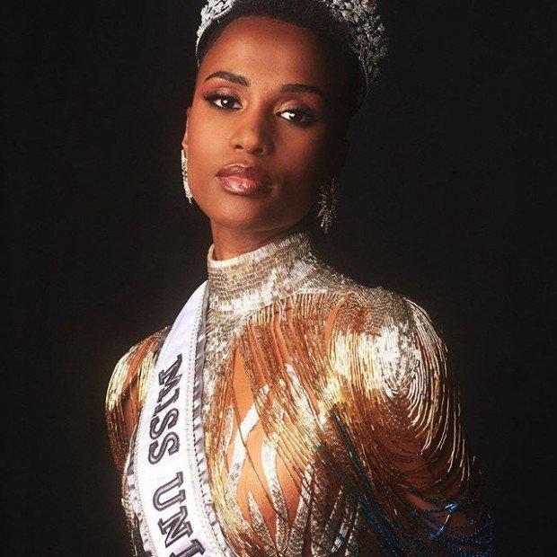 Зозибини Тунци: 5 фактов о новой Мисс Вселенная 2019