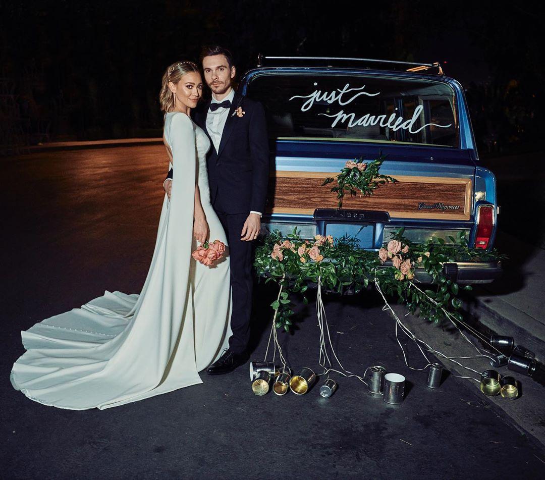 Хилари Дафф показала первые свадебные фото с мужем