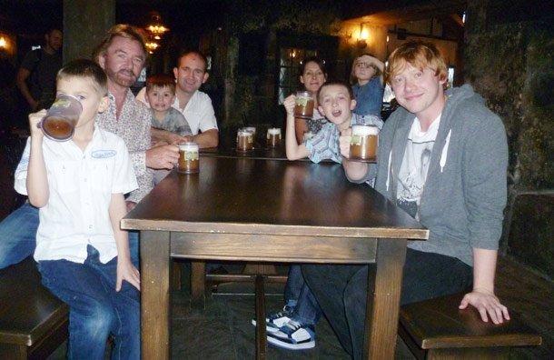 Семья руперта гринта фото игры губки боба против патрика